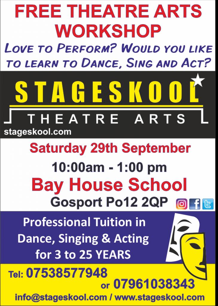 theatre arts performing gosport free acting singing dancing